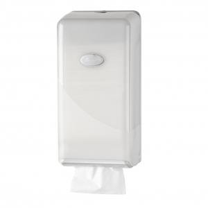 Bulkpack toiletpapier dispenser Pearl White