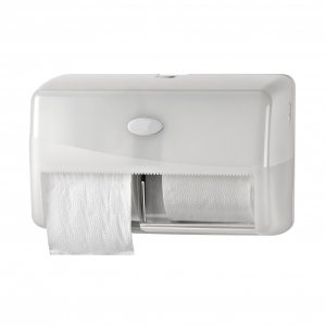 Duo toiletrol dispenser Pearl White